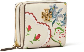 Tory Burch Kira Mixed Floral Bi-Fold Wallet