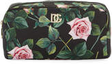 Dolce & Gabbana Floral Nylon Cosmetics Pouch Bag