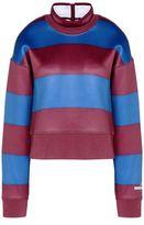 adidas by Stella McCartney Stella McCartney run striped sweatshirt