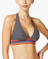 Jag Chromatic Printed Halter Bikini Top