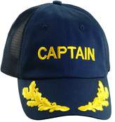 Dorfman Pacific Co. Men's Mesh Back Captain Cap