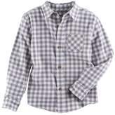 SONOMA Goods for Life Boys 4-7x SONOMA Goods for LifeTM Plaid Button Down Shirt