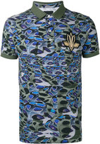 Les Hommes printed polo shirt - men - Cotton - S
