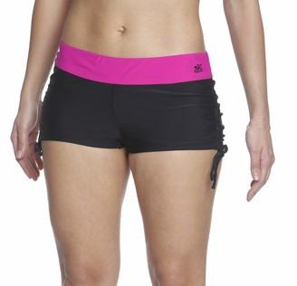 ZeroXposur Women's Boyleg Bikini Bottom