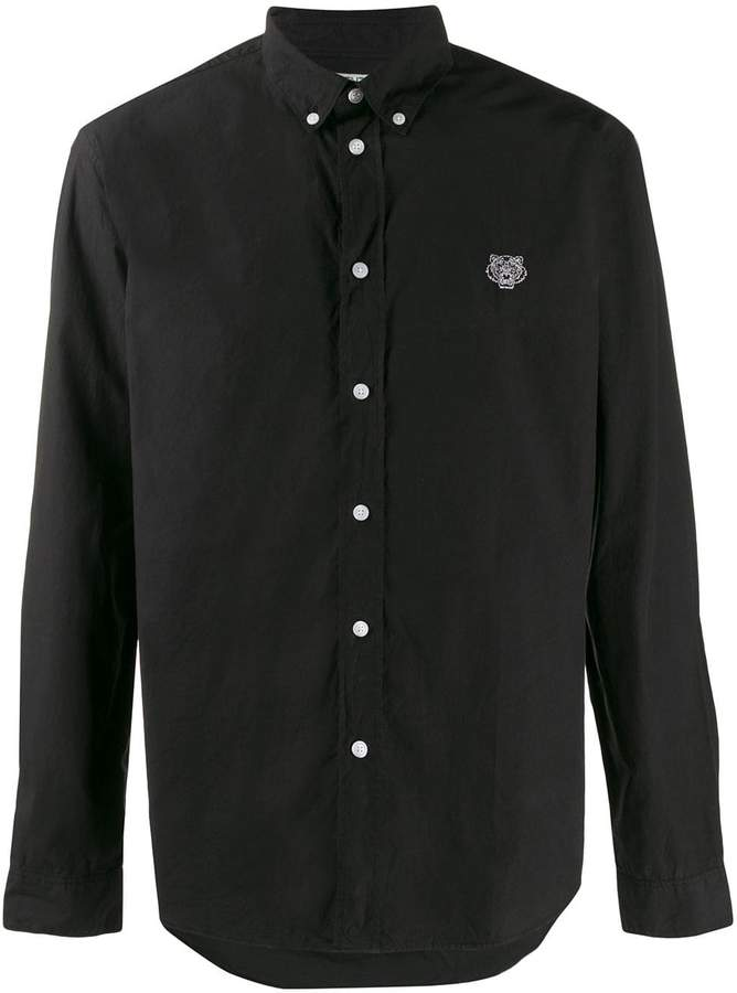 Kenzo button down collar shirt