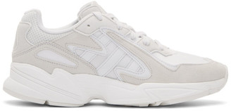 adidas White Yung 96 Chasm Sneakers