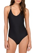 Volcom Women's Simply Solid One-Piece Swimsuit