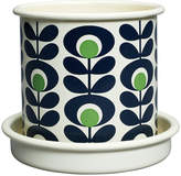 Orla Kiely Small Oval Flower Plant Pot - Apple