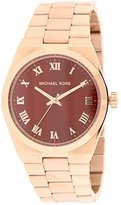 Michael Kors Women's Channing MK6090 Rose Stainless-Steel Quartz Watch