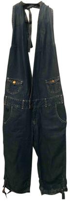 Pepe Jeans Blue Denim - Jeans Jumpsuits