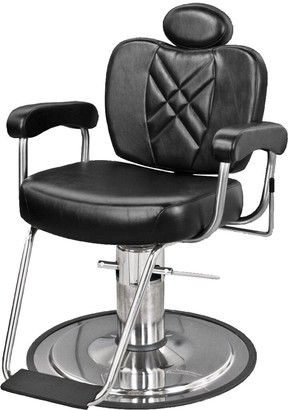 Collins 8070 Metro Barber Chair with Headrest