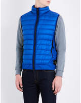 Stone Island Bluette Quilted Practical Stand-collar Gilet