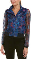 Elie Tahari Silk-Blend Jacket