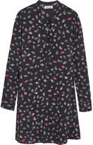 Splendid Printed Georgette Mini Dress - Black