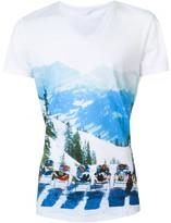 Orlebar Brown ski trip print T-shirt