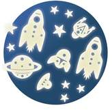 Djeco Mission Space Glow In The Dark Wall Stickers