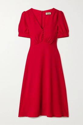 Paul & Joe Crepe Midi Dress - Red