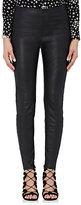 Saint Laurent Women's Leather Cigarette Pants
