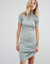 Noisy May Knit Ribbed Sweater Dress