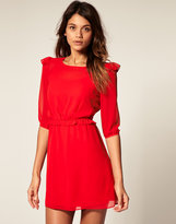ASOS Mini Dress with Frill Detail