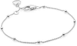 Katie Belle Sterling Silver Beaded Bracelet