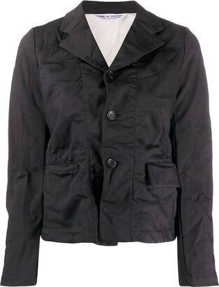 Comme des Garçons Comme des Garçons Wrinkly Three-Button Jacket