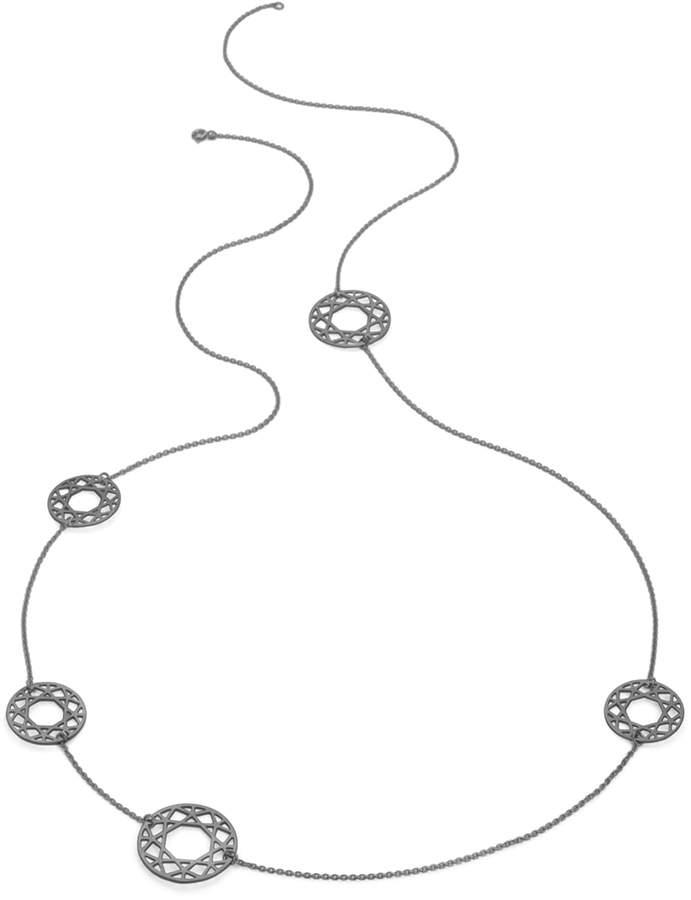 Myia Bonner Black Multi-Brilliant Diamond Necklace