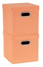 Household Essentials 2-Pc. Melon Storage Box