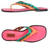 Missoni Toe post sandal