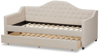 Baxton Studio Perry Modern Daybed & Trundle