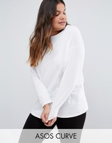 Asos Ultimate Long Sleeved Tunic Oversized T-Shirt