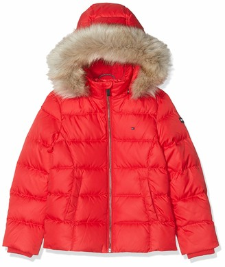 Tommy Hilfiger Girl's Essential Basic Down Jacket