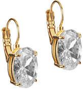 Kate Spade Draped Jewels Oval Leverback Earrings