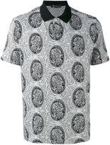 Versace logo polo shirt - men - Cotton - S