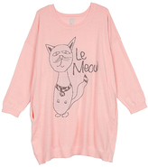 Melissa McCarthy Creole Pink 'Le Meow' Sweater - Plus