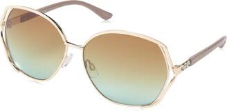 Rocawear Women's R3287 Gldnd Non-Polarized Iridium Round Sunglasses