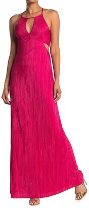 BCBGeneration Sleeveless Cutout Maxi Dress