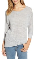 Caslon Women's Crossover Front Tee