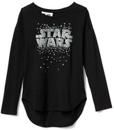 Gap GapKids | Star Wars embellished graphic hi-lo tee