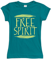 Urban Smalls Peacock 'Free Spirit' Fitted Tee - Toddler & Girls