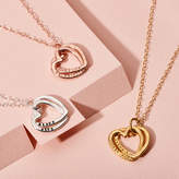 Love Hearts Posh Totty Designs Personalised Interlinking Hearts Necklace
