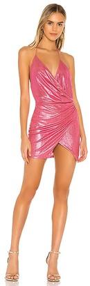 superdown Missie Wrap Front Dress
