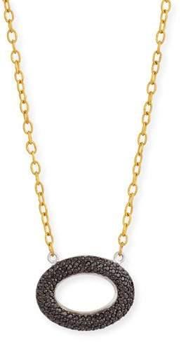Gurhan Galahad Reversible Pavé Diamond Necklace