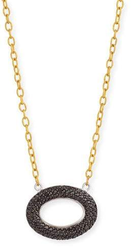 Gurhan Galahad Reversible Pave Diamond Necklace