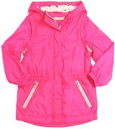 Stella McCartney Hooded Nylon Windbreaker Jacket