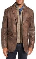 Men's Flynt Leather Hybrid Sport Coat