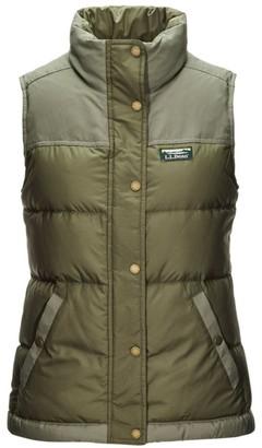 L.L. Bean Women's Mountain Classic Down Vest, Colorblock