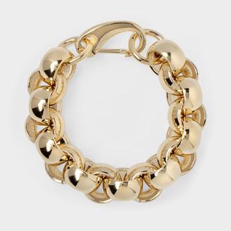 Laura Lombardi Luna Bracelet In Brass