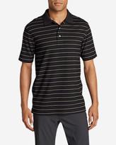 Eddie Bauer Men's Voyager II Performance Short-Sleeve Polo Shirt - Stripe