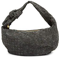 Bottega Veneta Women's Small Jodie Suede Hobo Bag